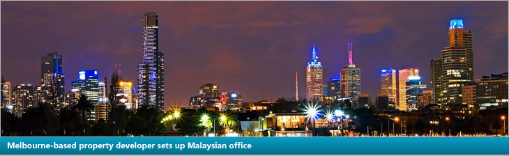 Melbourne-based property developer sets up Malaysian office